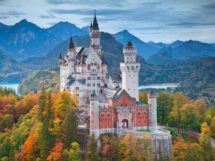 Замок Нойшванштайн, Хоэншвангау, Германия