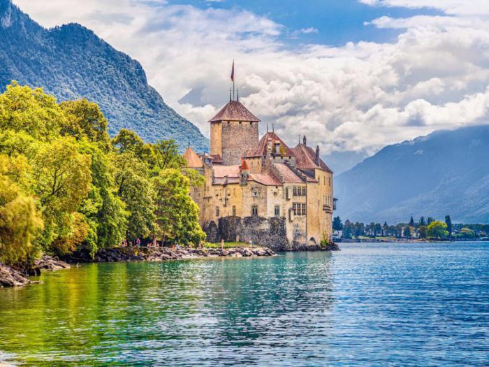 Шильонский замок, Вейтау, Швейцария