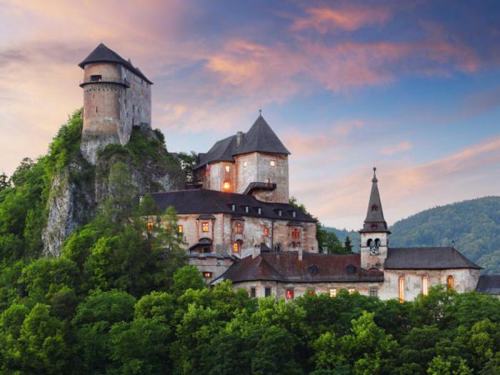 Орава, Словакия