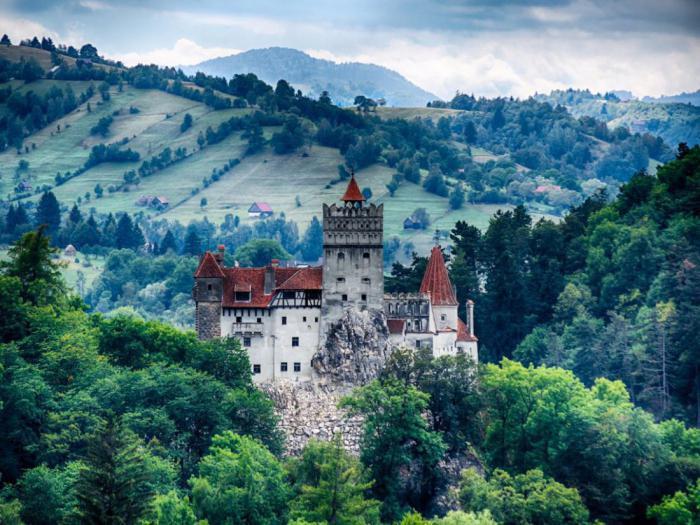 Замок Бран, Румыния
