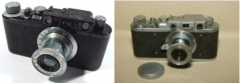 08. Leica 2, 1932 год и ФÐД, 1934 год.