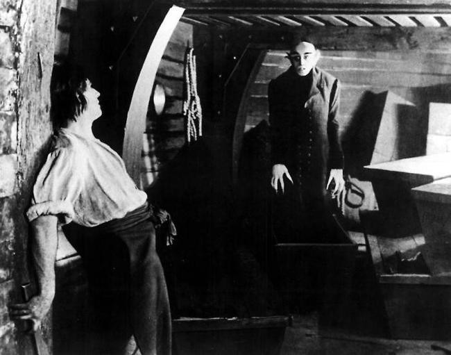 cinematography on nosferatu Nosferatua simple edit - and cinema is borndirectors begin editing films with the audiencein mind - such as with 'nosferatu' - by showingthe vampire on the stairs and then the woman'sreaction, the director has created tensionthe audience know what is coming for her andthis encourages us to empathise with thewoman and fear for her.