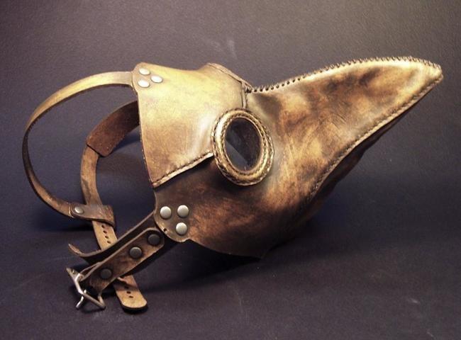 Знаменитая маска клюва
