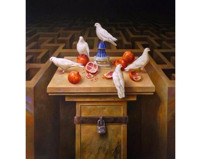 Таинственный мир лабиринтов Альберто Панкорбо: испанский художник ...