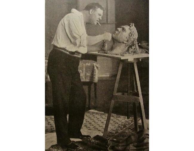 Шаляпин - скульптор