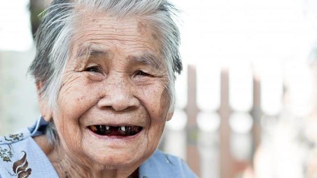 Япония: черные зубы