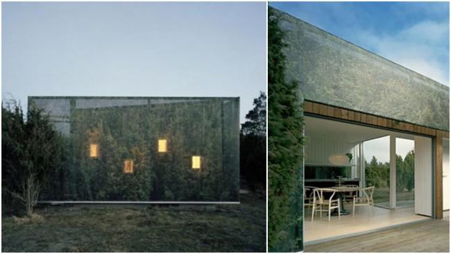 Удивительные дома-невидимки: зеркальные стены и другие способы, скрывающие эти строения от посторонних глаз.