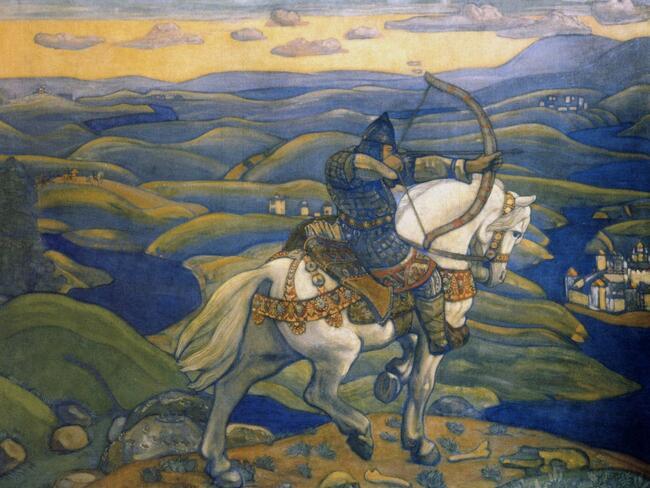Художник: сцены из жизни древних славян