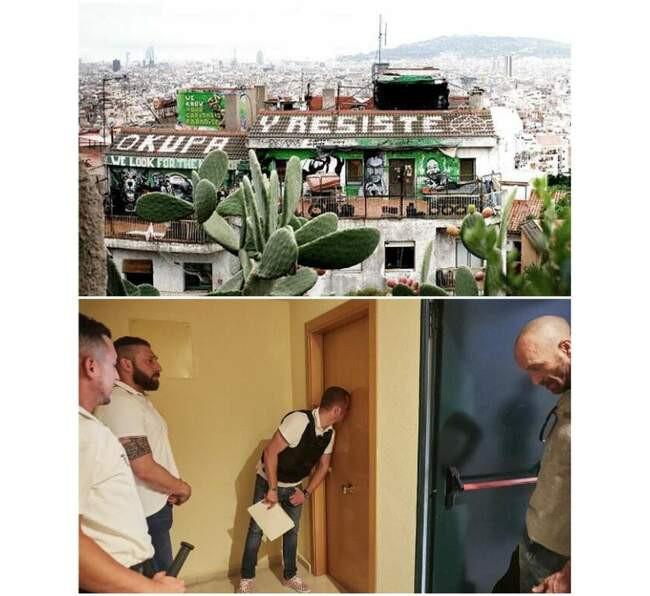 Как в испании занимают чужие дома