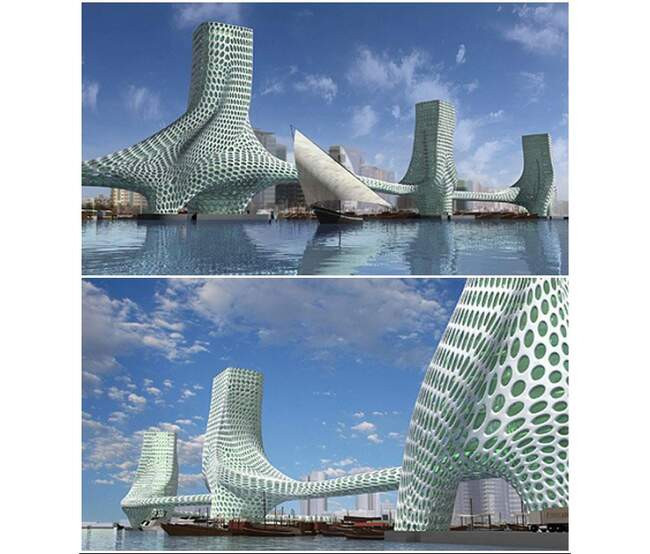 Виадук Мийо, проект «Три Грации» и еще 6 мостов с футуристическими формами,  которые стали символом современной архитектуры | homsk