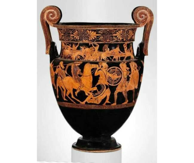 1. Древние женщины-воительницы амазонки