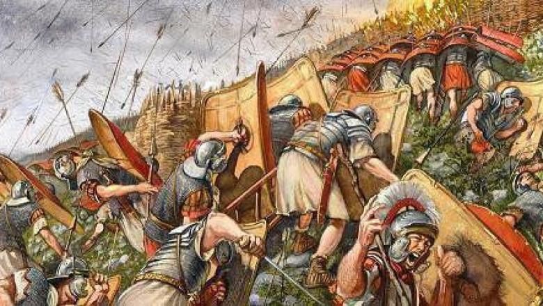 Выдающийся полководец Аэций Флавий.