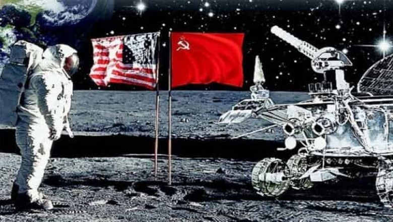 the space race and american russian relations Scientific american is the essential  sputnik hype launched one-sided space race  were aided by the popular belief that russia's achievement.