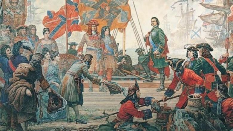 Русский десант на побережье Швеции или операция Петр Великого по принуждению к миру.