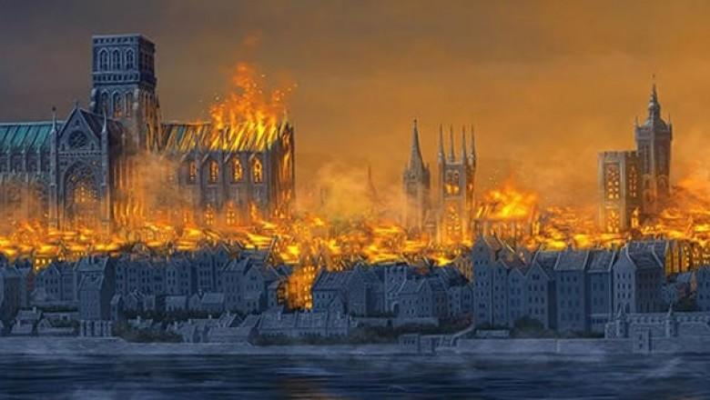Картинки по запросу Великий лондонский пожар Лондонский пожар 1666 года стал одной из самых разрушительных катастроф в истории города. Картинки