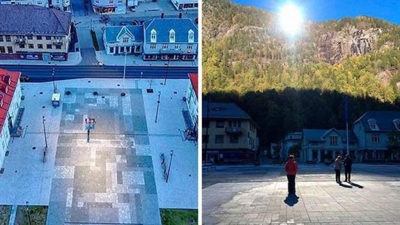 Почему власти норвежского городка Рьюкан используют