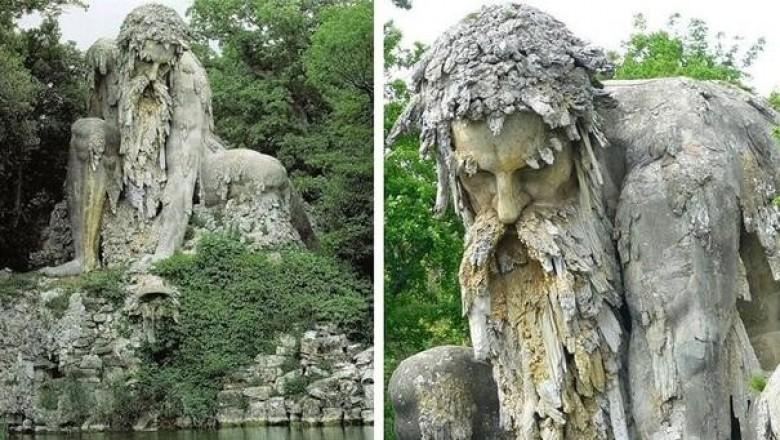 «Аллегория Аппенин»: какие секреты хранит в себе гигантская каменная скульптура XVI века в Тоскане.