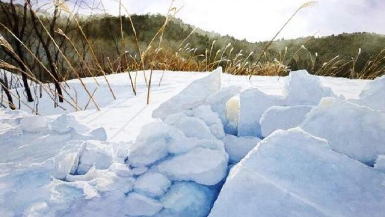 Зимние акварели Кена Марсдена, Абе Тошиюки и других знаменитых художников